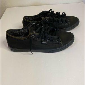 Vans black Ferris low pro women's round toe 7